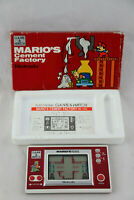 Jeu électronique GAME & WATCH DONKEY MARIO'S Cement Factory COMPLET