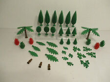 (E 11) Lego Cypress Trees Palm Trees Bushes Shrubs Leaves Forest