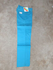 70's Original Wrangler Juniors 7 27x34 Aqua Blue Denim Jeans Pants Womens Girls!