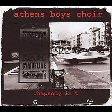 Rhapsody In T [Digipak] by Athens Boys Choir (CD, Aug-2004, Daemon Records) cd