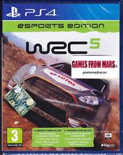 WRC WORLD RALLY CHAMPIONSHIP 5 ESPORTS EDITION / PS4 / NUOVO ITALIANO