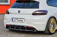 Racing Heckansatz Heckeinsatz Diffusor aus ABS für VW Scirocco R
