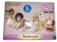 New ListingCalico Critters Baby Nursery Furniture Set - Over 20 Pieces