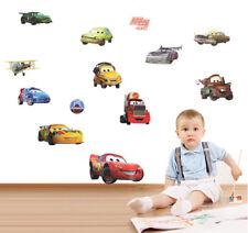 Removeable Cartoon Cars Wall Sticker Children Nursery Kids Room Home Decor Mural