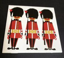 Vintage Kenneth Townsend Scottish Grenadier Guard  England 6 In Tile Trivet