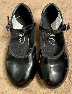 Tap Girls Shoes Revolution Black Size 13.5