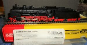 Fleischmann 4162/93 Schlepptender-Lok Baureihe 38 der DB OVP DC Spur HO Topp