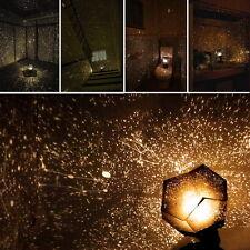 Decoración del hogar romántico Astro Estrella Cielo Cosmos Noche Luz Lámpara de proyección OS
