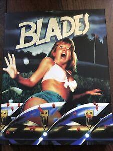 Blades Blu Ray W Slip Vinegar Syndrome Region Free