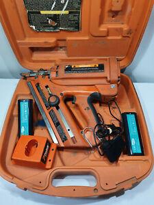 Paslode Framer Nail Gun with 2x New Batteries