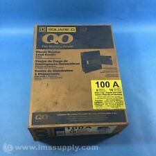 Square D Q08-16L100Ds Load Center / Distribution Board, Steel Fnob