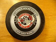 OHL Ottawa 67's Summer Hockey Camp Carleton College Hockey Puck Collect Pucks