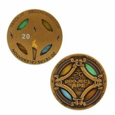 20 Years of A.P.E. Geocoin Official Geocaching Trackable