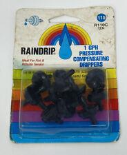 Raindrip R110C 1 Ghp Pressure Compensating Drippers 10 Pkg Med Loam Soils Nos