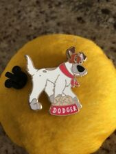 Disney Pin DSF PTD Oliver And Company Dodger Dog Dish Trader Delight DSSH Pin