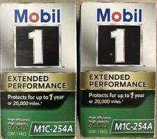 (Pack of 2) Mobil 1 M1C-254A Extended Performance Engine Oil Filters - New