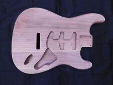 Black Walnut S-Style Guitar Body