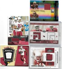 ANQUAN BOLDEN LOT OF 5 DIFFERENT AUTHENTIC GAME JERSEY CARDS