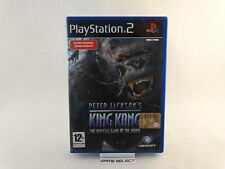 PETER JACKSON'S KING KONG SONY PS2 PLAYSTATION 2 PAL ITALIANO ORIGINALE COMPLETO