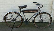 Antique Hawthorne Flyer pre war vintage bicycle skip tooth clad wheel tank bike