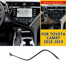 For Toyota Camry 2018 2019 20 Carbon Fiber Center Console Decoration Strip Trim
