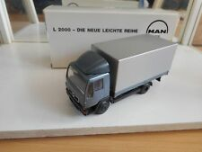 Conrad MAN L 2000 in Blue/Grey on 1:50 in Box