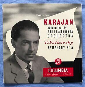 33CX 1133 Tchaikovsky Symph No 5 - Von Karajan PHIL B/G