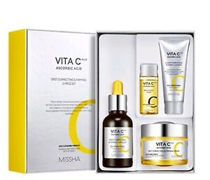 MISSHA Vita C Plus Ascorbic Acid Spot Correcting & Firming 2 Kinds Set