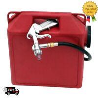 Air Powered Portable Sandblaster 2.5 Gallon Sand Blaster Kit Handles Glass Beads