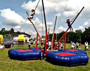 30'x30'x20' Commercial 4 Inflatable Bungee Trampoline Bounce House We Finance