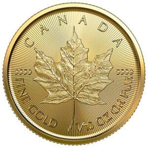 Kanada - 5 Dollar 2021 - Maple Leaf - Anlagemünze - 1/10 Oz Gold ST