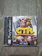CTR: Crash Team Racing (PlayStation 1, 1999) Black Label CIB.