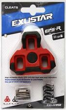 Exustar E-ARC R2 6° Float Road Bicycle Cleats fits Look Keo Pedals