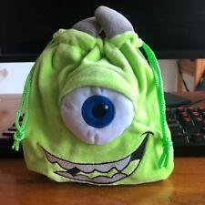 Disney mike monster pouch bag drawstring anime bag makeup bags phone holder