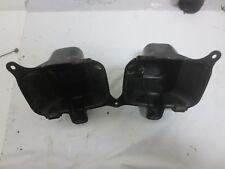 1992 Honda Fourtrax TRX 300 2x4 ATV Black Plastic Headlight Buckets (307/56)