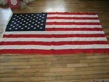 New listing American Us Flag Bull Dog Bunting 4 x 6, 50 Stars 100 % Cotton, Must See