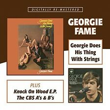 Georgie Does His Thing With Strings/Knock On Wood - 2 DISC SET - (2015, CD NEUF)