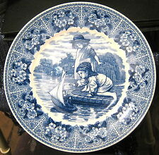 Wedgwood Plate In Moments from a Victorian Childhood The Boating Lake