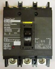 SQUARE D Power Pact QD 200 Circuit Breaker 3 Pole 200 Amp 240V QDL32200
