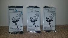 Polaroid Zink 2x3 inch Premium Photo Paper Pogo Printer 30 sheets