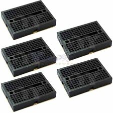 5x Mini Solderless Prototype Breadboard Bread Board for Arduino Shield Black HP