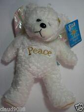 "SKANSEN SMALL GIFTED BEARS ""CELEBRATION ANGEL BEARS  JOY & PEACE NEW WITH TAGS"