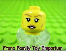 LEGO New Female Minifig HEAD Medium Flesh Lips Series 17 Elf Girl Body Part