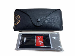 RAY BAN RAYBAN Case ONLY with DUST CLOTH Black
