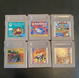 Gameboy Games Lot Of 6