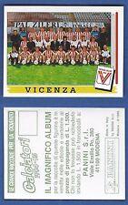 FIGURINA CALCIATORI PANINI 1994/95 - NUOVA/NEW N.542 SQUADRA - VICENZA
