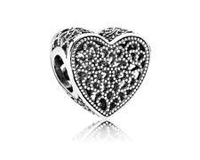 Authentic Pandora Bead Openwork Filled with Romance Item #791811