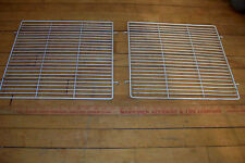 "Vtg. Superlectric 14"" Box Fan Superior #1475 REPLACEMENT PART FRONT & BACK CAGE"