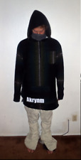 "Akrynm Tall ""Baja"" Hoodie XLT- Green Ski / Snowboard Hoodie"