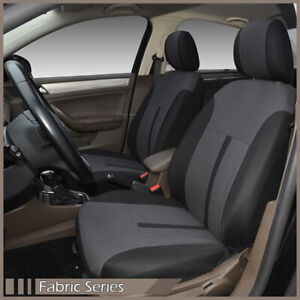 Pair of Fabric Car Seat Covers Compatible for Scion, Front Only (Video)